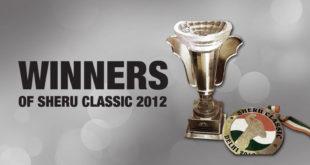 Winners Sheru Classic 2012